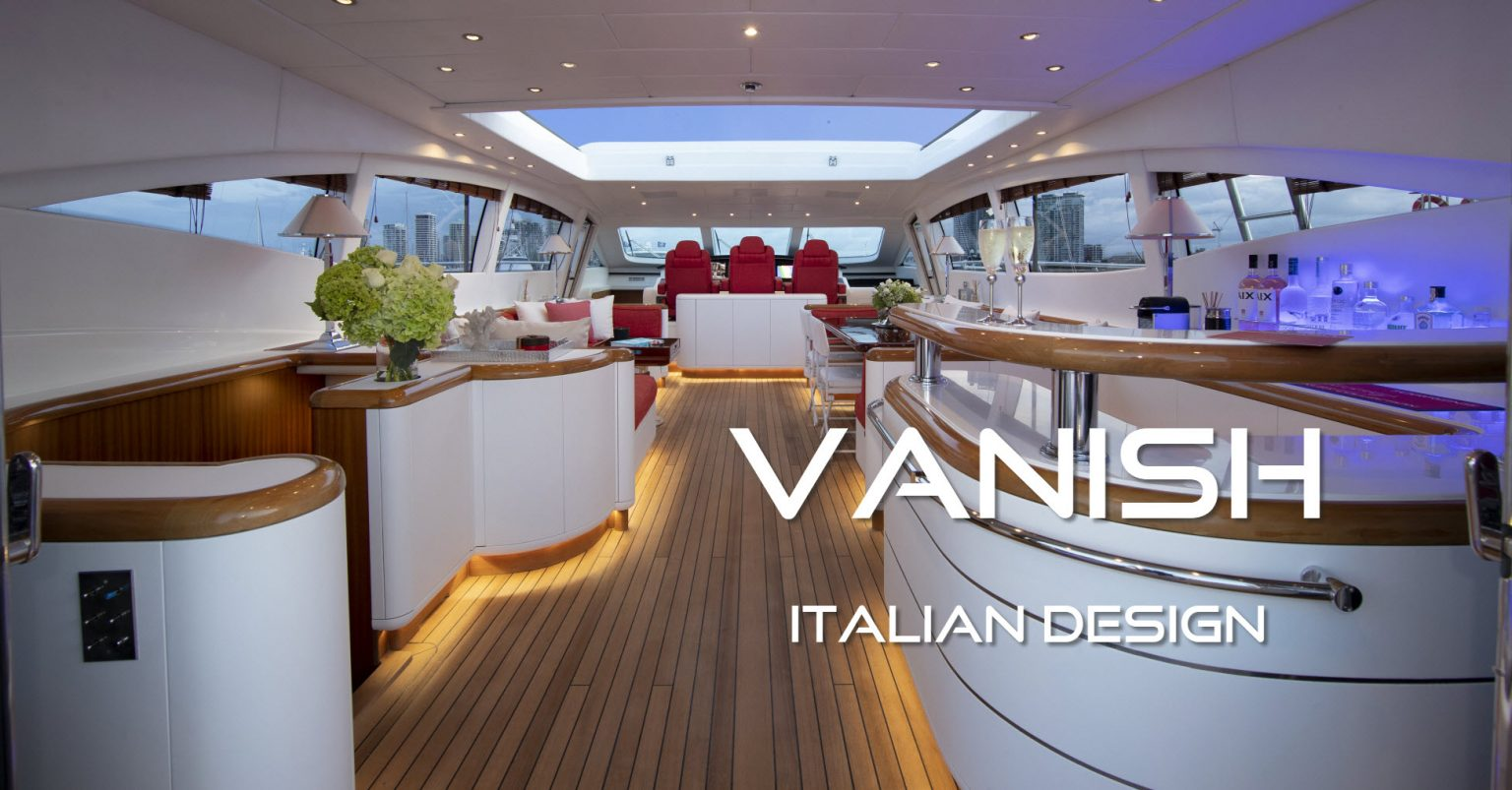 Vanish Superyacht Italian Design