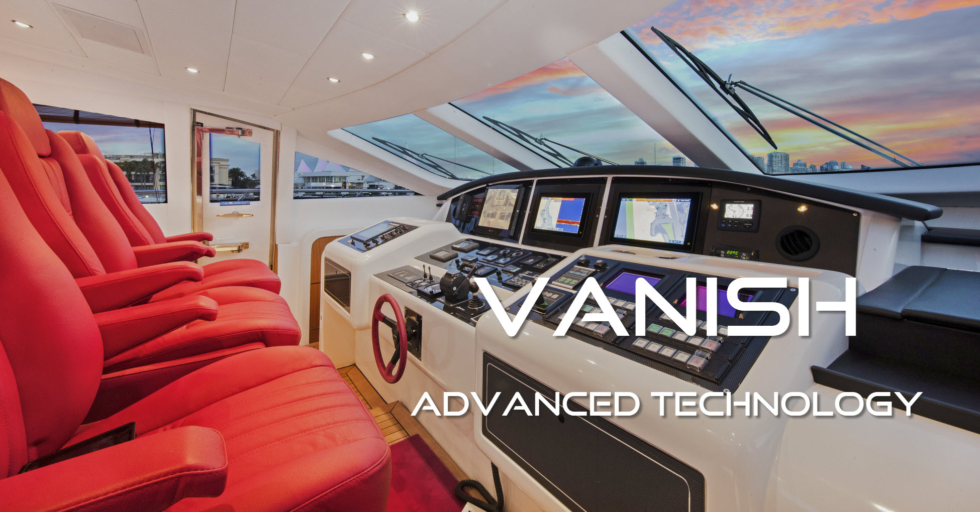Vanish Banner Advanced Technology