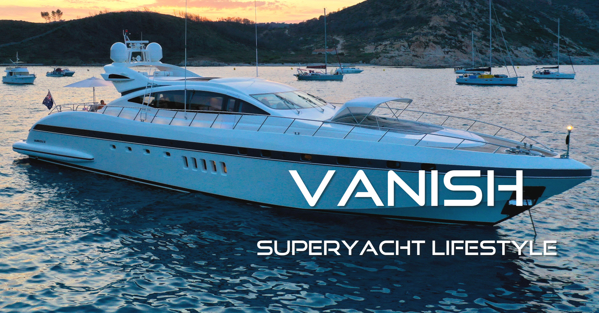 About - Vanish Super Yacht - Buy, Charter, Events 1300 148 648
