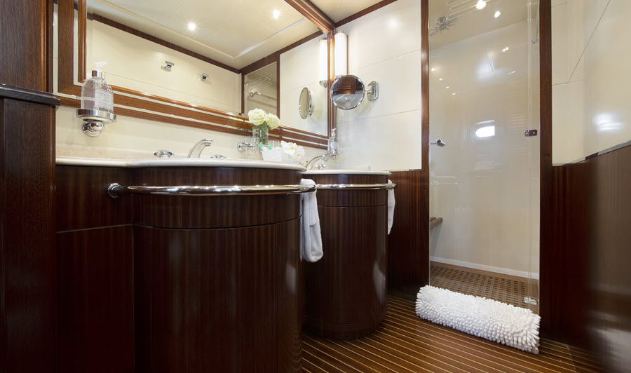 Vanish Superyacht Bathroom