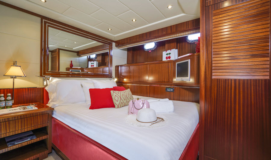 Vanish Superyacht Bedroom
